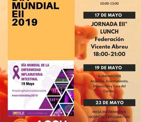 Celebra  con  ACCU  Álava  el  Día  Mundial  de  las  EII  2019